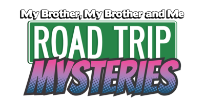 MBMBaM Road Trip Mysteries Logo